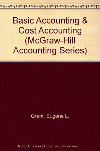 9780070240940: Basic Accounting & Cost Accounting (McGraw-Hill Accounting Series)