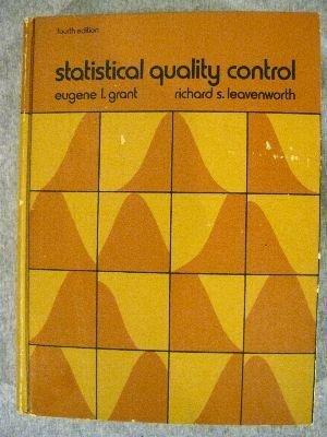 9780070240971: Statistical quality control