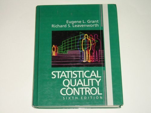 9780070241183: Statistical Quality Control: Solutions Manual