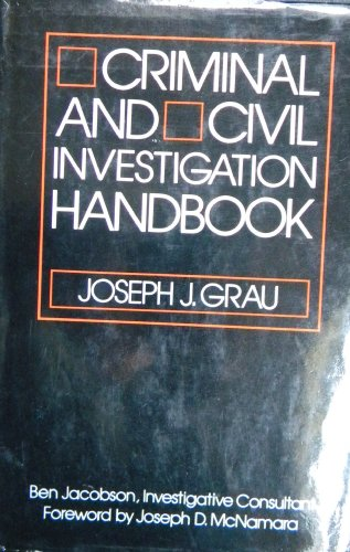 9780070241305: Criminal and Civil Investigation Handbook