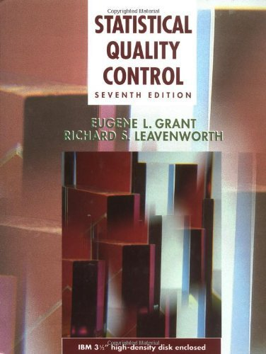 9780070241626: Statistical Quality Control (Mcgraw-Hill Series in Industrial Engineering and Management Science)