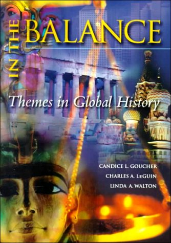 9780070241794: In the Balance: A Thematic Global History, Vol. 1 and 2