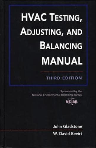 9780070241848: HVAC Testing, Adjusting, and Balancing Field Manual (Mechanical Engineering)