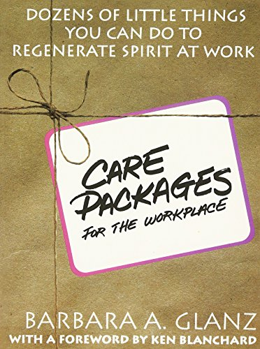 9780070242678: Care Packages for the Workplace: Dozens of Little Things You Can Do To Regenerate Spirit At Work