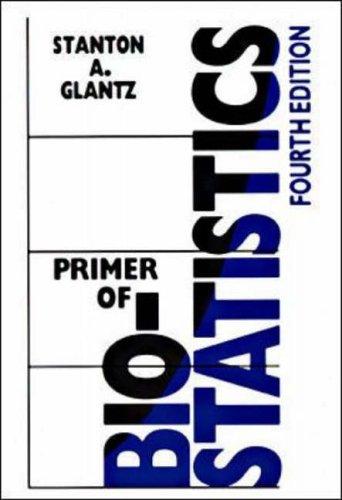 9780070242685: Primer of Biostatistics