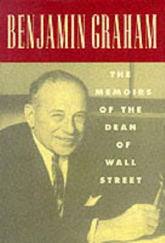 9780070242692: Benjamin Graham: The Memoirs of the Dean of Wall Street