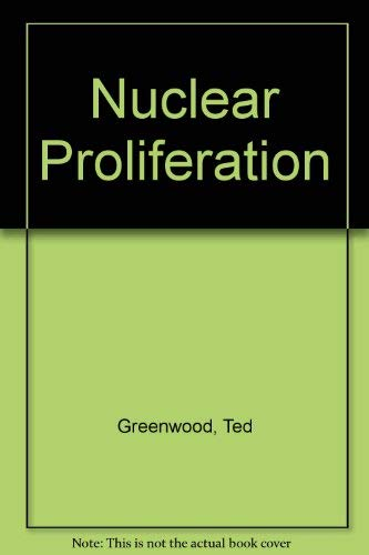 9780070243453: Nuclear Proliferation (1980s project/Council on Foreign Relations)