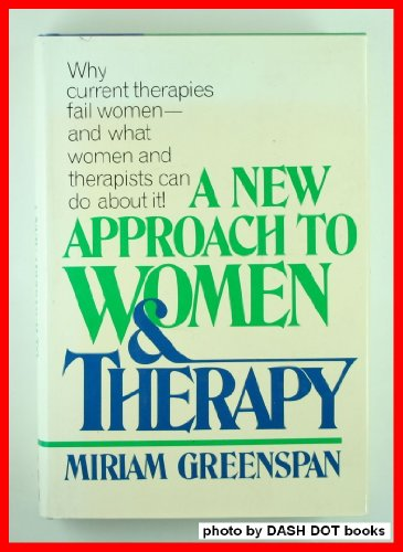 9780070243491: A New Approach to Women & Therapy
