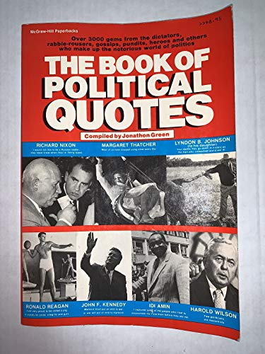 9780070243545: The Book of Political Quotes