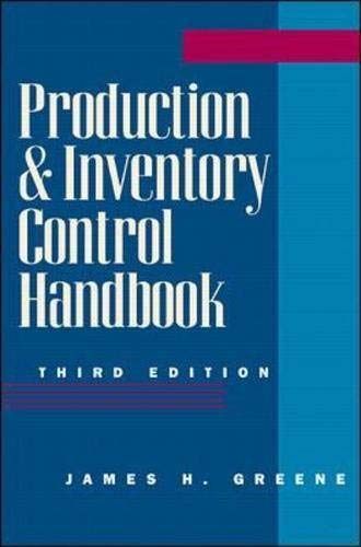 9780070244283: Production and Inventory Control Handbook