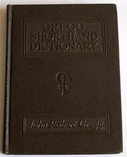 9780070244641: Gregg Shorthand Dictionary