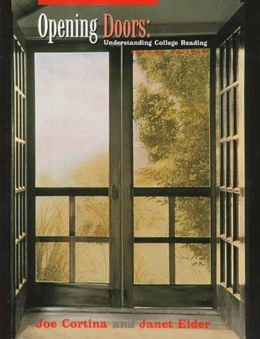 9780070244702: Opening Doors: Understanding College Reading