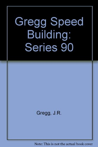 9780070244771: Gregg Speed Building: Series 90