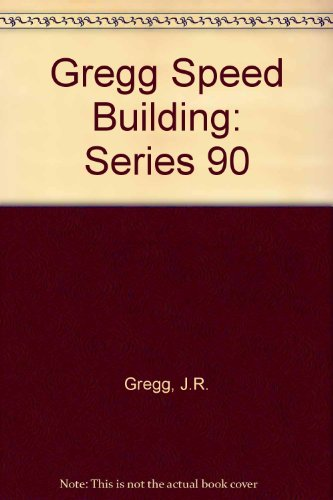 9780070244795: Gregg Speed Building: Series 90