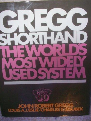 9780070244900: Gregg Shorthand, Series 90