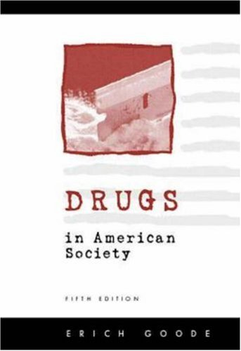 9780070244955: Drugs In American Society