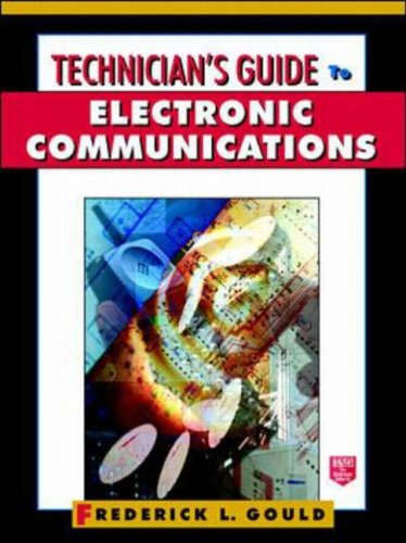 9780070245365: Technician's Guide to Electronic Communications