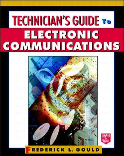 9780070245372: Technician's Guide to Electronic Communications