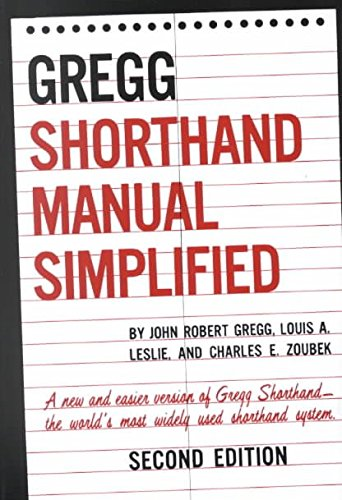 9780070245495: Shorthand Manual Simp (UK 944008