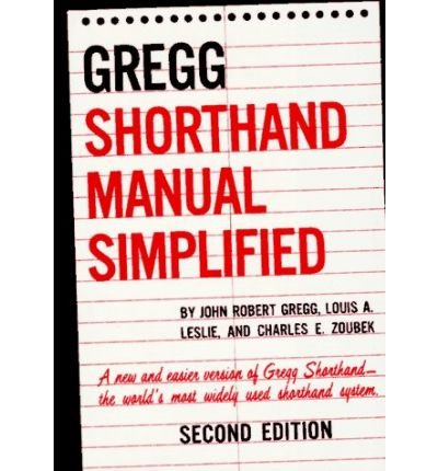 9780070245495: Gregg Shorthand Manual, Simplified