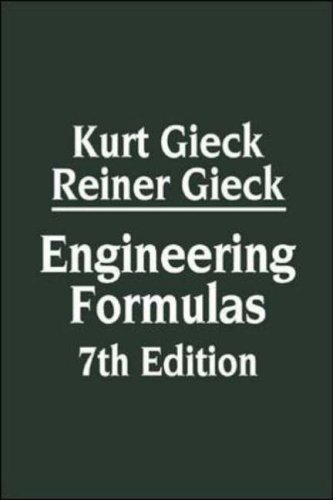 9780070245723: Engineering Formulas