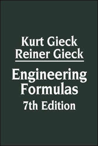 9780070245723: Engineering Formulas 7th Edition