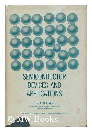 9780070245884: Semiconductor Devices and Applications (Electrical & Electronic Engineering)