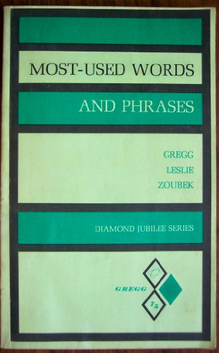 9780070245921: Most Used Words and Phrases