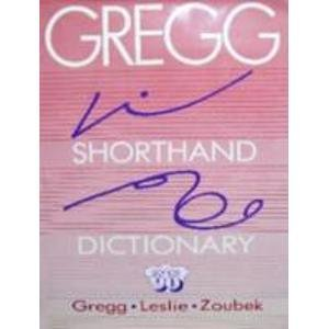 9780070245990: Gregg Shorthand Dictionary: Series 90