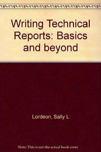 9780070246089: Writing Technical Reports