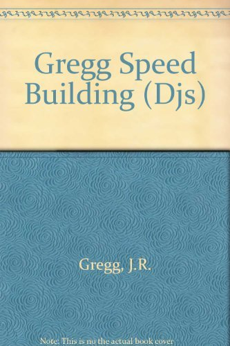 9780070246355: Gregg Speed Building (Djs)