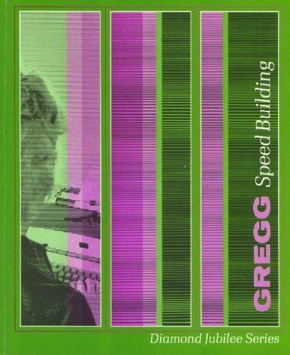 9780070246379: Student's transcript of Gregg speed building (Diamond Jubilee series)