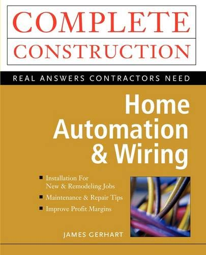 Home Automation & Wiring: Gerhart, James