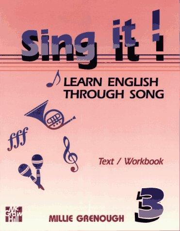 9780070247093: Sing it !