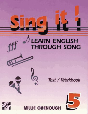 9780070247130: Sing It! Learn English Through Song -Level 5 Text/Workbook