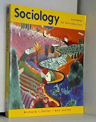9780070247673: Sociology An Introduction, Sixth Edition