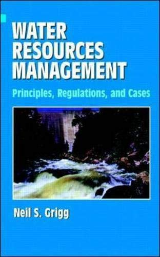 9780070247826: Water Resources Management: Principles, Regulations, and Cases