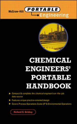 9780070248014: Chemical Engineers' Portable Handbook (McGraw-Hill Portable Engineering)