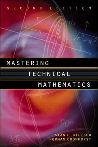 9780070248281: Mastering Technical Mathematics, 2nd edition