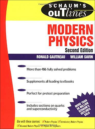 9780070248304: Schaum's Outline of Modern Physics