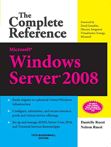 9780070248588: Microsoft Windows Server 2008: The Complete Reference 1ED