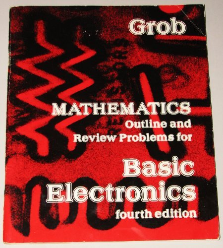 9780070249240: Mathematics Outline and Review Problems for Basic Electronics