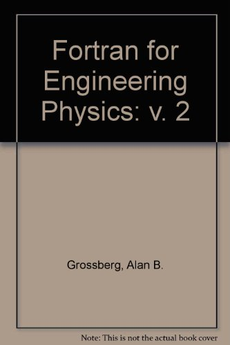 9780070249721: Fortran for Engineering Physics: v. 2