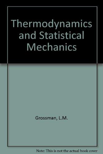 9780070249745: Thermodynamics and Statistical Mechanics