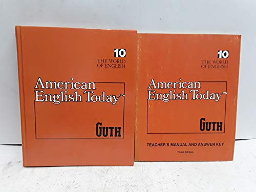 9780070250208: The world of English (His American English today ; 10)