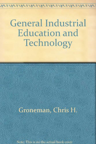 9780070250246: General Industrial Education and Technology