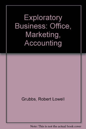 9780070250505: Exploratory Business: Office, Marketing, Accounting