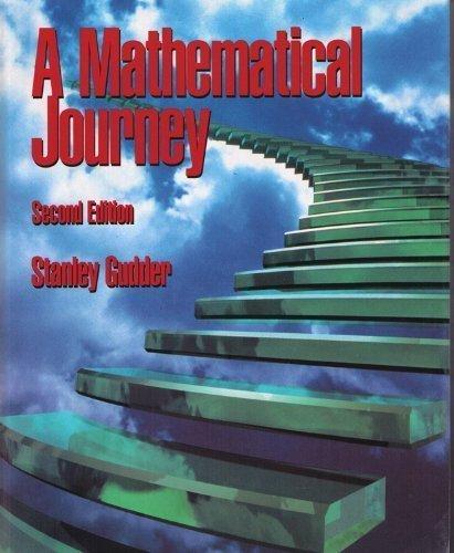 9780070251304: A Mathematical Journey
