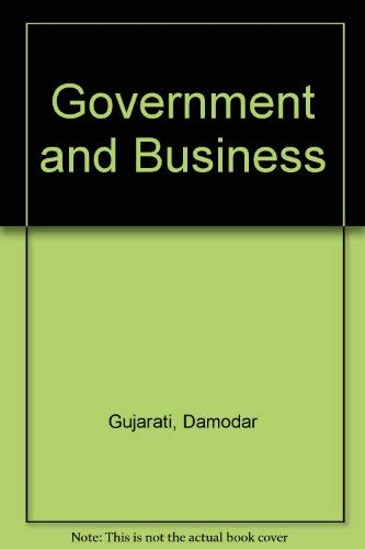 9780070251861: Government and Business