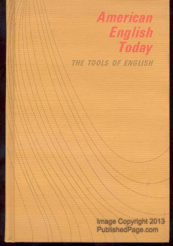 9780070252882: American English Today
